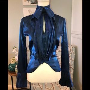 Vintage Christian Lacroix couture blouse 6